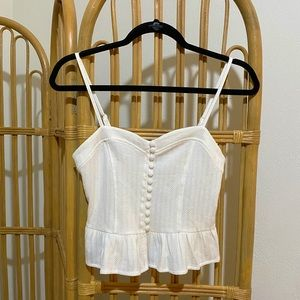 Ivory knit top